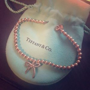 Tiffany & Co Bow bead bracelet